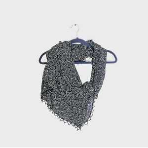 3/$25 OLD NAVY Large Scarf with Beads